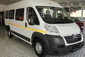 White Citroen Relay Light Commercial Transport  Van — Stock Photo