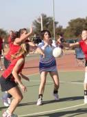 Korfball League Ladies games — Stock Photo