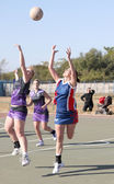 Korfball League Ladies games — Stock Photo