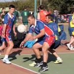 Korfball League Mens games — Stock Photo #76082131
