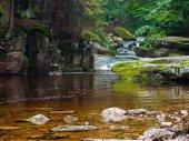 Szklarka waterfall — Stock Photo