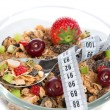 Diet weight loss concept tape measure spoon muesli cereals bowl — Stock Photo #52490821