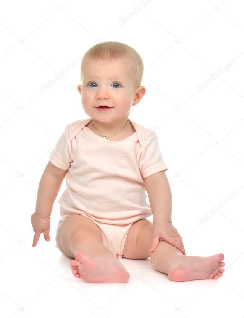 9 m s n d t d t batole sed p i pohledu na fotoapar t stock fotografie 61740377 - Cenas para bebes de 15 meses ...