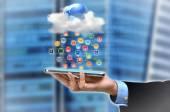 Aplicación de nube — Foto de Stock