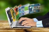 Internet koncepcja — Zdjęcie stockowe