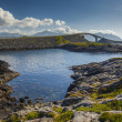 Picturesque views of the Atlantic Road. Norway. — Stock Photo #66046569
