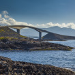 Picturesque views of the Atlantic Road. Norway. — Stock Photo #66046967