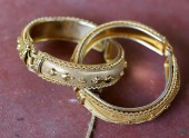 Ring gold — Stockfoto
