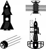 Espacio conjunto — Vector de stock