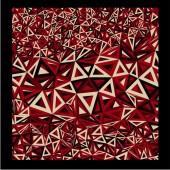 Farbige Dreiecke — Stockvektor