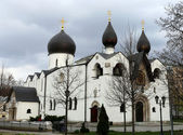 Orthodox Church and monastery  — Stock Photo