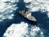 Icebreaker — Stock Photo