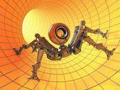Robot webcam — Stock Photo