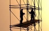 Os construtores — Fotografia Stock