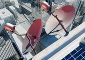 Anteny satelitarnej — Zdjęcie stockowe