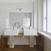 A modern bathroom — Stock Photo