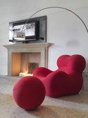 Modern iving room — Stock Photo