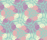Stylish floral seamless pattern — Stock Vector