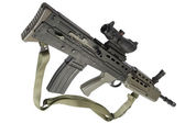 Assault rifle L85 — Stock Photo