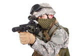 US special forces soldier — Stok fotoğraf