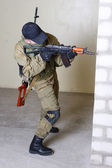 Insurgents with AK 47 — Stock Photo