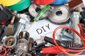 """""""Do it yourself"""" - repair parts — Stock Photo"""