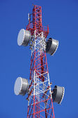 Cell tower closeup — Stock Photo