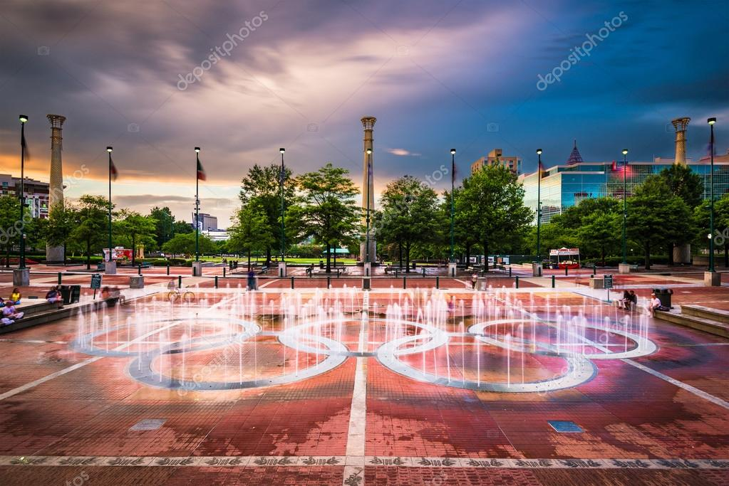 Centennial olympic park stock editorial photo sepavone for Olympic homes