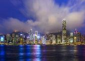 Hong Kong China City Skyline — Stock Photo