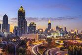 Atlanta, horizonte de georgia — Foto de Stock