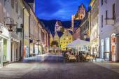 Fussen, Germany Old Townscape — Foto Stock