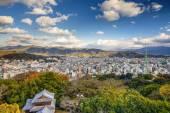 Matsuyama, Japan cityscape — Stock Photo