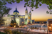 Almudena Cathedral of Madrid, Spain — Stock Photo