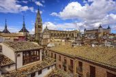 Toledo, Spain Town Skyline — Stock Photo