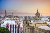 Seville, Spain City Skyline — Stock Photo