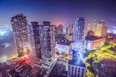 Chongqing, China Cityscape at Night — Stock Photo