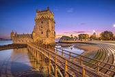 Башня Белена Лиссабона — Стоковое фото