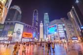 Chongqing, China Shopping District — Stock Photo