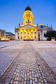 Gendarmenmarkt of Berlin — Stock Photo