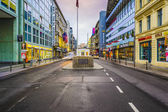 Checkpoint Charlie of Berlin — Stock Photo