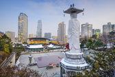 Séoul, corée du sud paysage urbain — Photo