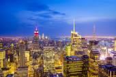 Vista de la ciudad de nueva york — Foto de Stock