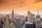 Uitzicht op de stad van new york — Stockfoto