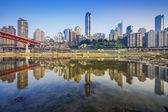 Chongqing, China Cityscape — Stock Photo