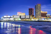 Atlantic city, new jersey paysage urbain — Photo