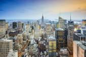 Vue sur la ville de new york — Photo