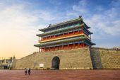 Gatehouse at Tiananmen Square — Stock Photo