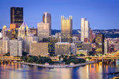 Pittsburgh, Pennsylvania Skyline — Stock Photo