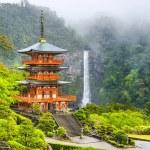 Nachi, Japan Pagoda and Waterfall — Stock Photo #59390897