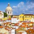 Lisbon, Portugal Skyline at Alfama — Stock Photo #59391449